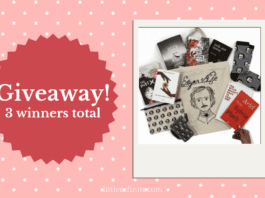 National Poetry Month Giveaway